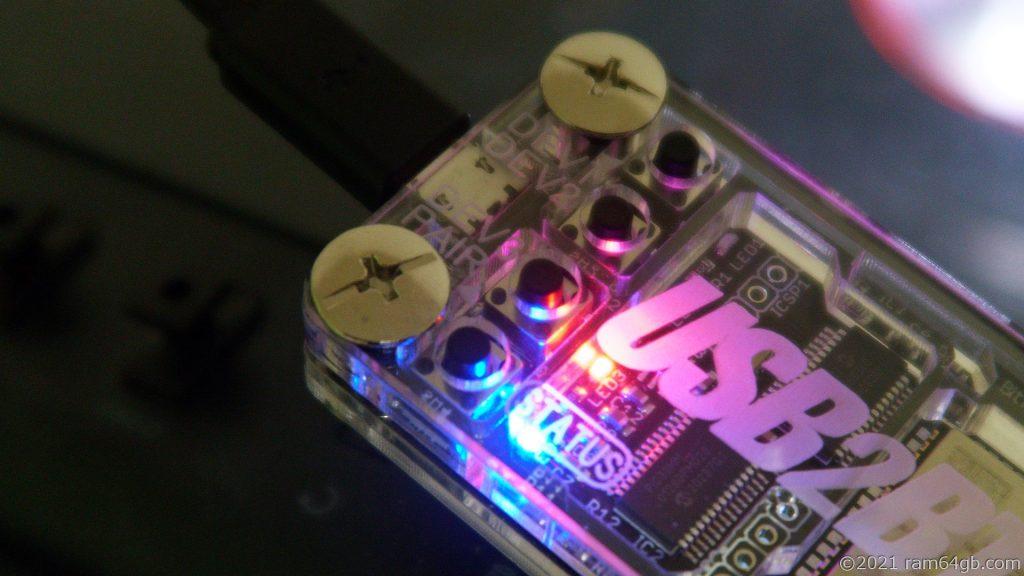USB2BT PLUS 切り替え